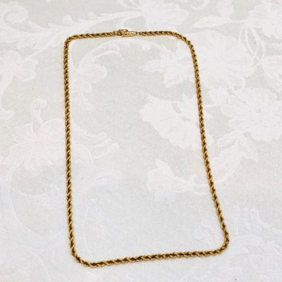 14kt Gold Rope Chain  (SOLD)